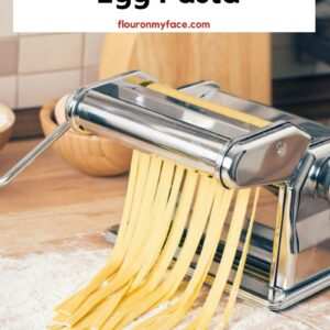 Making homemade pasta with a Althea pasta maker.