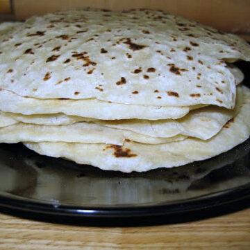 Flat Bread Gordita recipe via flouronmyface.com