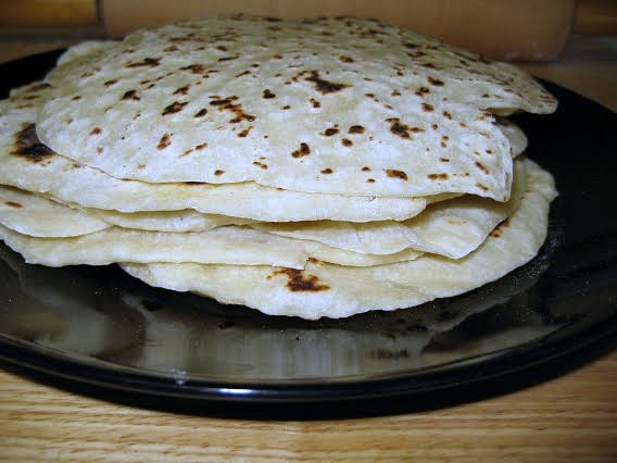 Flat Bread Gordita recipe via flouronmyface.com