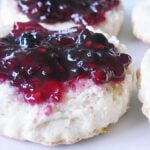 blackberry jam, jam, homemade jam, homemade biscuits, canning