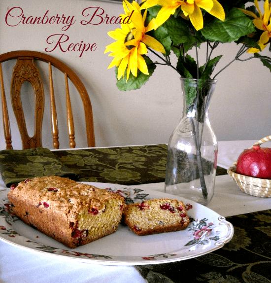 Best Cranberry Recipe ever via flouronmyface.com