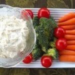 Foodbuzz Family Bites: Ranch Veggie Dip Recipe