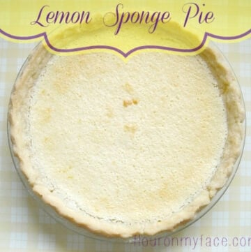 A classic Amish pie recipe is this Lemon Sponge Pie recipe from the Vinatge recipe project via flouronmyface.com
