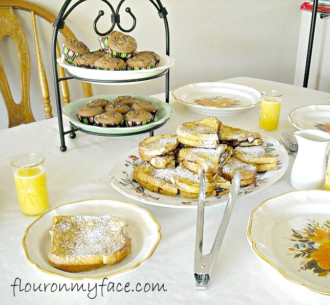 Nutella French Toast recipe for Mother;'s Day
