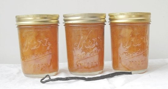 pear jam, canning, recipes, pear recipes, vanilla bean recipes, vanilla flavored jam