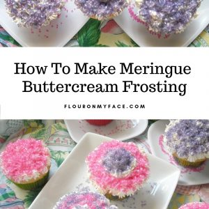Meringue Butter Cream Frosting