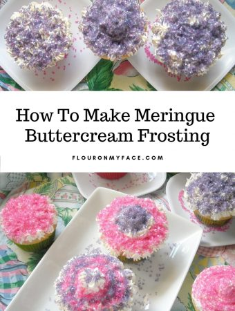 Meringue Butter Cream Frosting