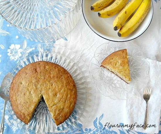 Banana Cake Recipe, Vintage Banana Cake, Recipe, family recipes