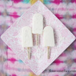 Creamy Coconut Milk Tropical Ice Pops