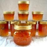 Peach Pepper Jam, Jalapeno pepper jam, peach jam, pepper jam recipe