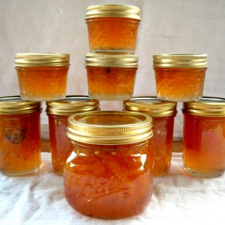 Peach Pepper Jam, Jalapeno pepper jam, peach jam, pepper jam recipe