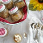 The Vintage Recipe Project with a twist: Peach Kuchen in a Jar or Not