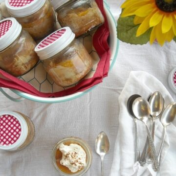 a vintage Peach Kuchen Recipe via flouronmyface.com