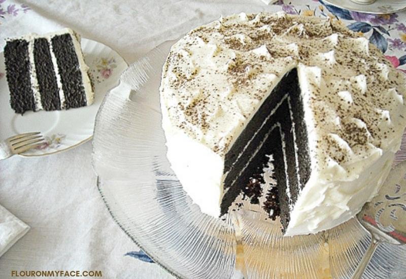 Vegan Triple Layer Chocolate Cake recipe
