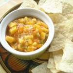 Mango and Peach Salsa