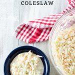 How To Make a Sweet Coleslaw-KFC Copycat Recipe