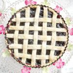 Easy, Cherry Tart, Cherry, Lattice Pie Crust, Pie, Cherry Pie Recipe