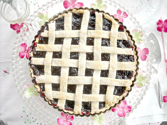 Easy, Cherry Tart, Cherry, Lattice Pie Crust, Pie, Cherry Pie Recipe