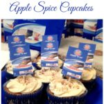 Easy Apple Spice Cupcakes, 2 ingredient cupcake recipe, 2 ingredient muffin recipe, apple spice, fall recipes