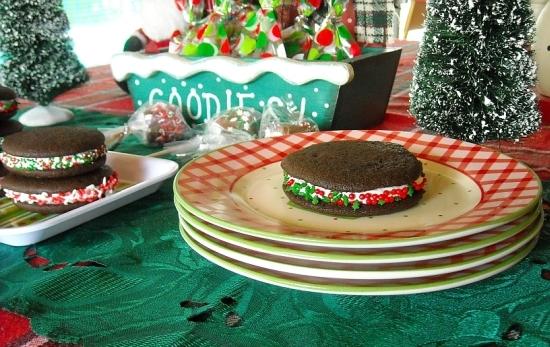 Christmas Baking, Whoopie Pies