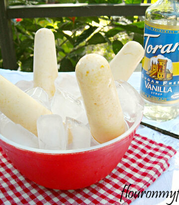 Torani Syrups, Torani Recipes, Frozen, Yogurt, Ice Pop Recipe