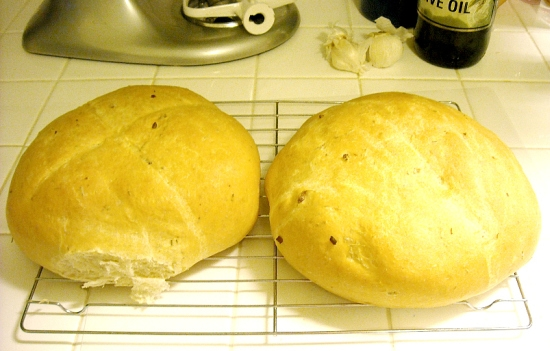 Garlic, Rosemary, Bread, Homemade Bread Recipes