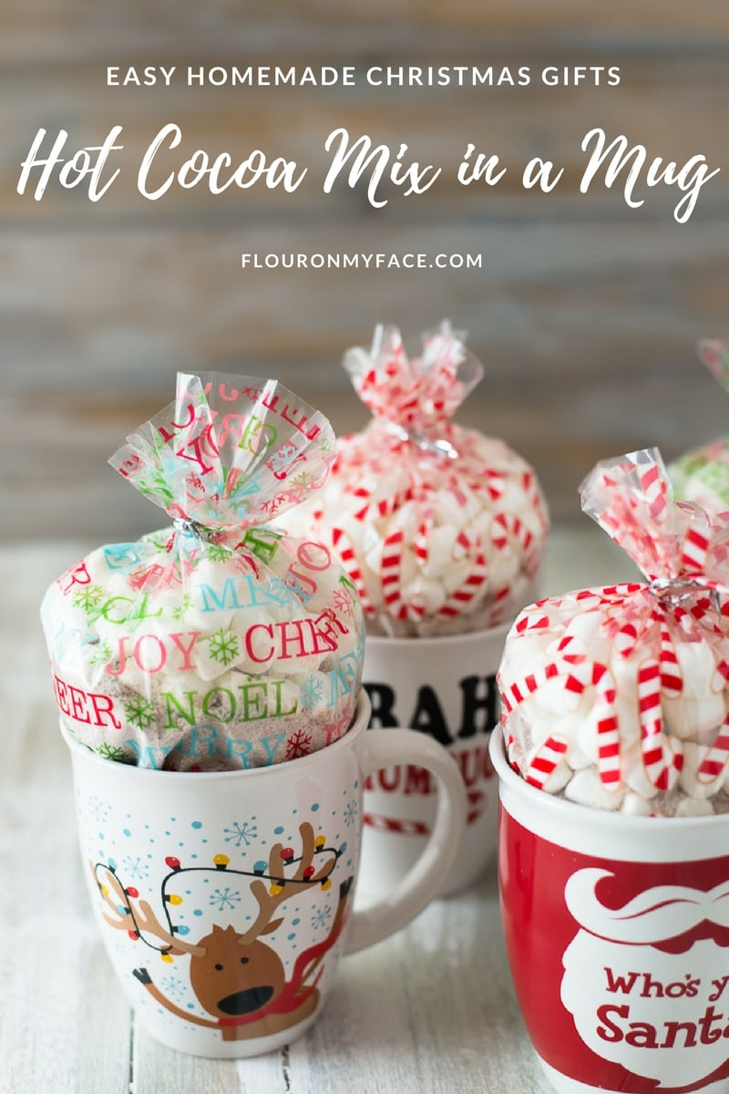 Homemade Christmas: Peppermint Hot Cocoa Mix