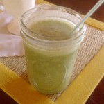 A Green Monster Smoothie Recipe
