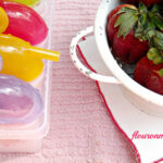 homemade, yogurt, ice pops, popsicle, recipes, strawberry, summer, family recipes