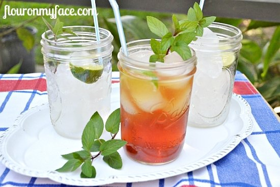 sweet iced tea, southern ice tea, how to make, tea, summer drinks