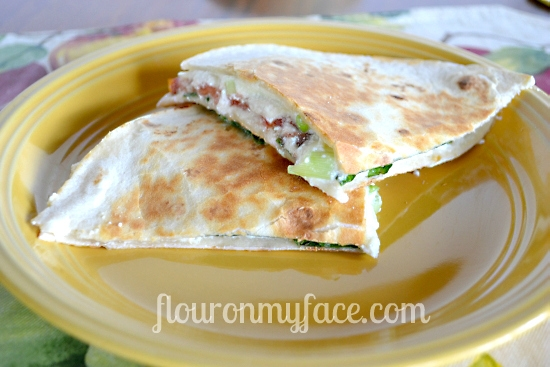 Fresh From Florida | Quick Fresh Vegetable Quesadilla's