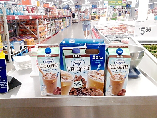 ID Mocha Iced Coffee available in twin packs at Sams Club