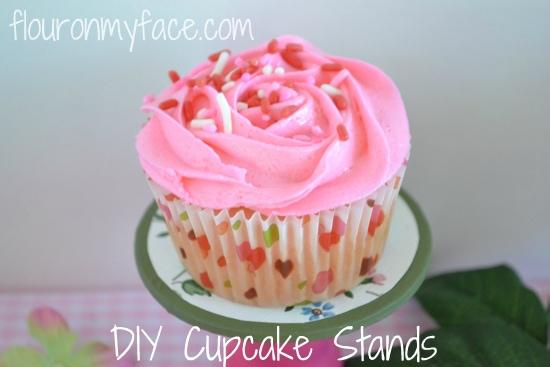DIY Mini Cupcake Stand