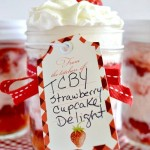 TCBY Strawberry Cupcake Delight in a Jar #TCBYGrocery #CBias