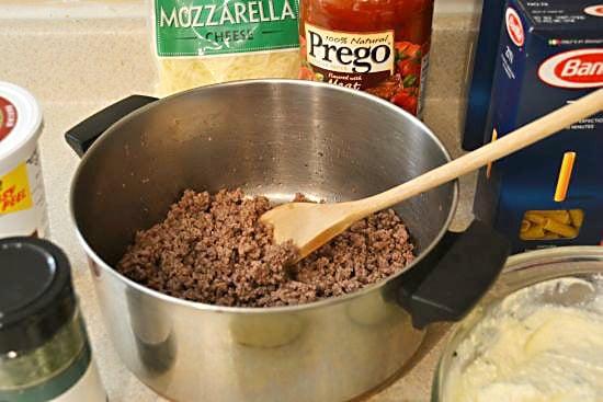Baked Ziti ground Beef