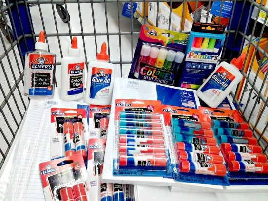 Elmers Back To School Supplies