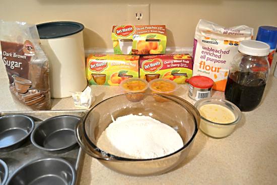 Del Monte Peach Cobbler Pie Ingredients