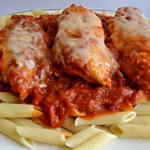 Rose Romano Pepper Sauce with Pasta