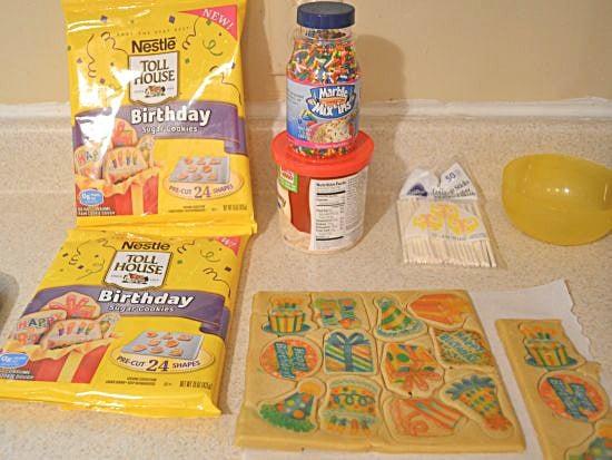Nestle Birthday Cookies