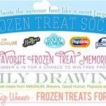 Frozen Treats Sweet Memories and Giveaway