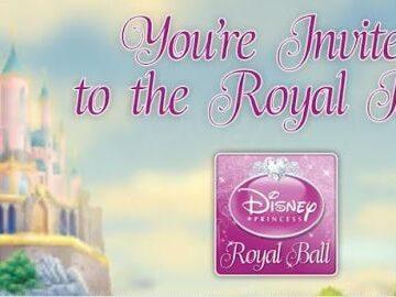 Disney's New Royall Ball App