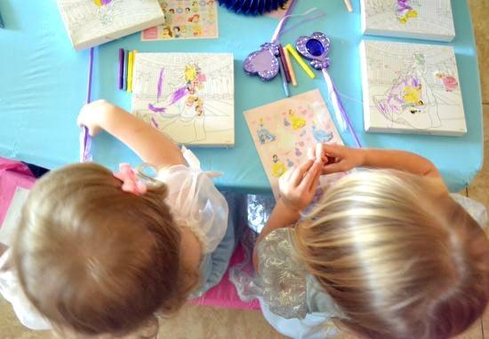Cinderella party crafts