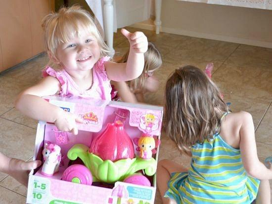 Princess Mega Blok Party Winner