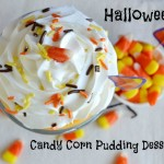 Halloween Candy Corn Pudding Dessert