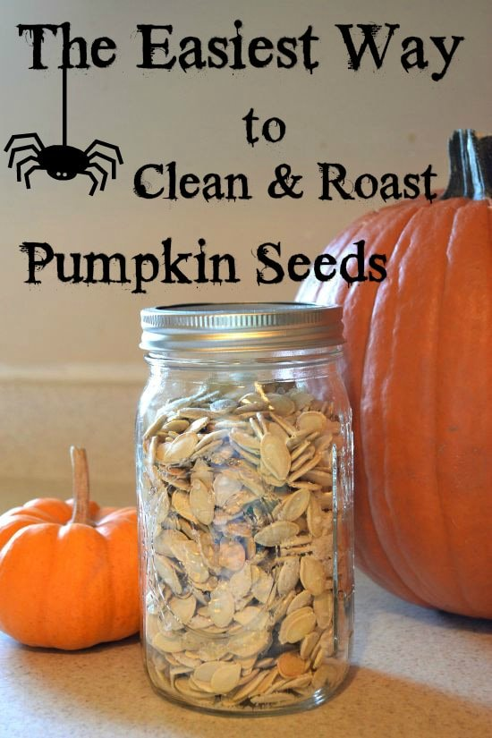 Easiest Way To Clean And Roast Pumpkin Seeds