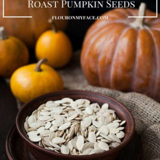 How to clean and roast pumpkins seeds. The easiest way to clean those stringy pieces of pumpkin pulp from pumpkins seeds and to make the salty roasted pumpkin seeds that you love via flouronmyface.com