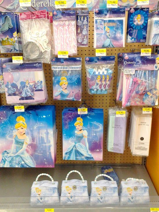 Disney Cinderella Party Supplies