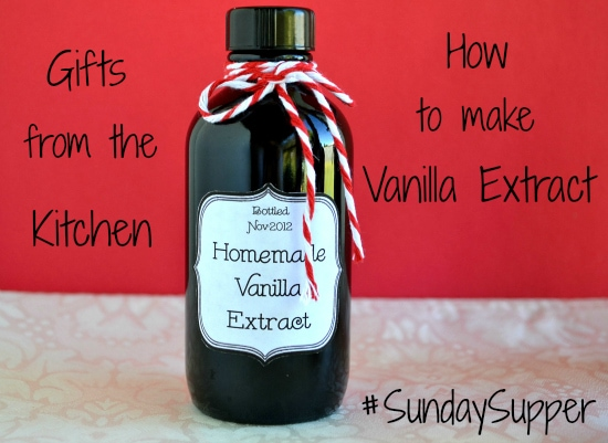 How to make Homemade Vanilla Extract with photos