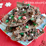 Holiday Candy ideas using Nestle Jingles candy and milk chcolate morsels chips