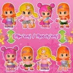 Holiday Gift Guide Pinypon Mini-Dolls for Modern Girls #PinyponParty